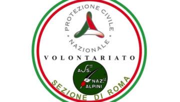 Nascita Protezione Civile ANA Roma