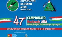 47° Campionato Naz. A.N.A. Marcia di regolarità in montagna a pattuglie
